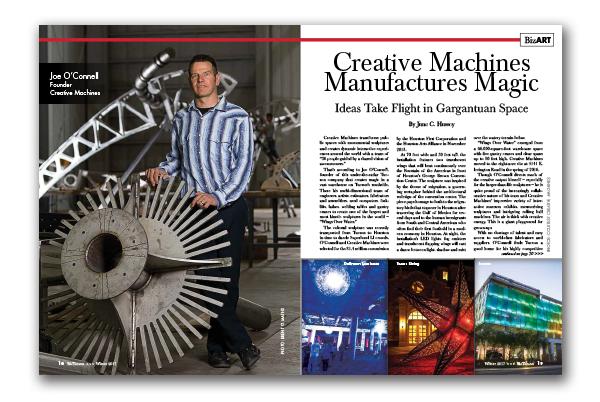 Photo of Creative Machines Manufactures Magic