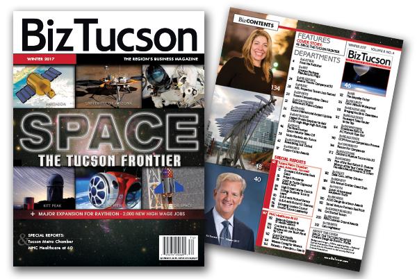 Photo of BizTUCSON WINTER 2017 ISSUE