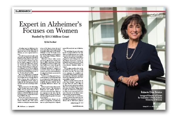 Photo of Expert in Alzheimer's Focuses on Women