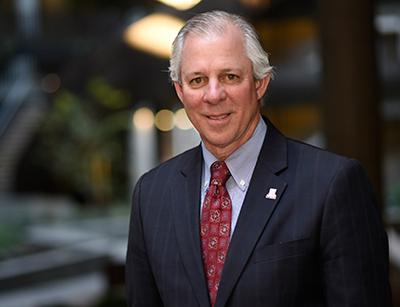 Photo of University of Arizona President Finalist Dr. Robert C. Robbins Visits Campus