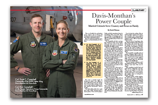 Photo of Davis-Monthan's Power Couple