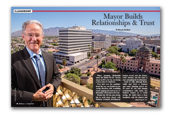 Photo of Mayor Jonathan Rothschild Builds Relationships and Trust