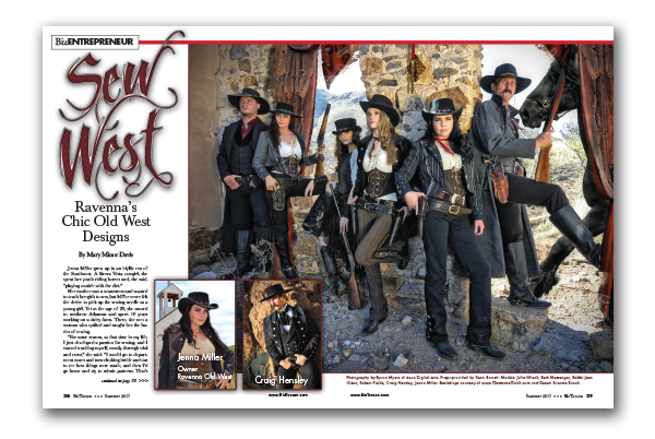 Photo of Ravenna's Chic Old West Designs