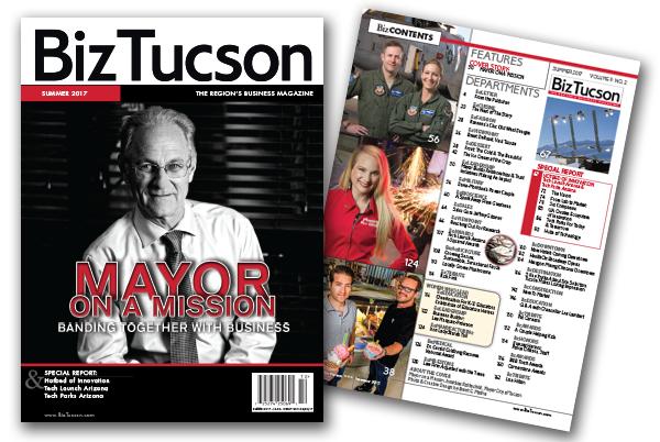 Photo of BizTUCSON Summer 2017 Issue