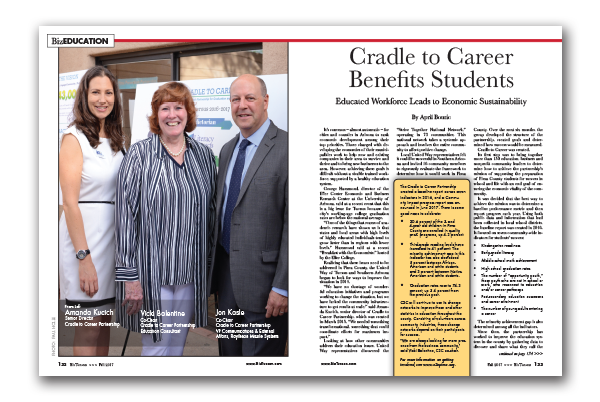 Photo of Cradle to Career Benefits Students