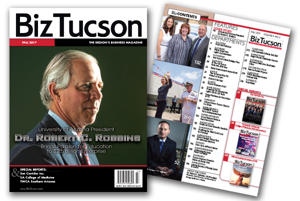 Photo of BizTUCSON Fall 2017 Issue