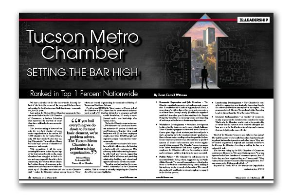 Photo of Tucson Metro Chamber Setting the Bar High