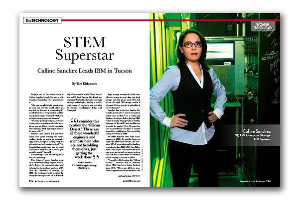 Photo of Calline Sanchez Leads IBM in Tucson