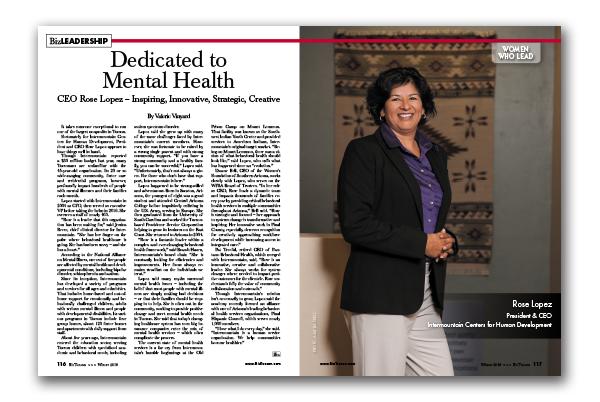 Photo of CEO Rose Lopez – Inspiring, Innovative, Strategic, Creative