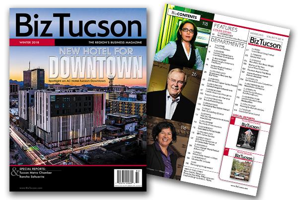 Photo of BizTUCSON 2018 Winter Issue