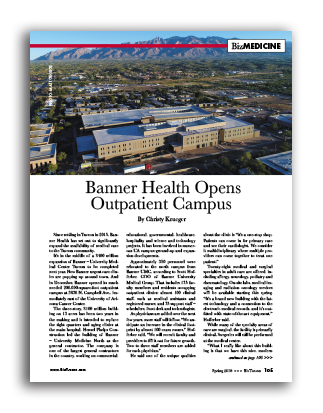 Photo of Banner Health Opens Outpatient Campus