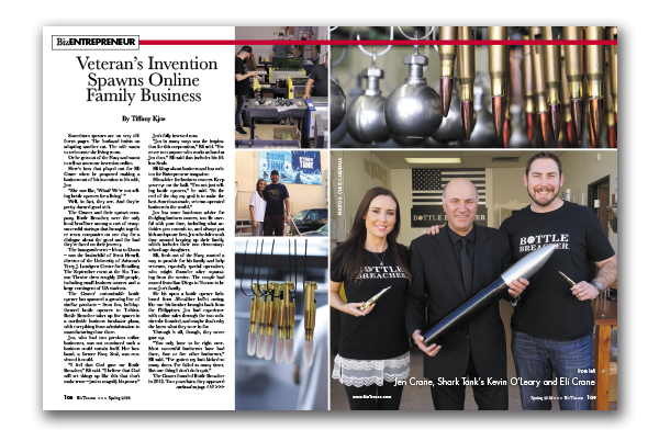Photo of Veteran's Invention Spawns Online Family Business