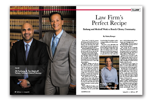 Photo of Law Firm's Perfect Recipe
