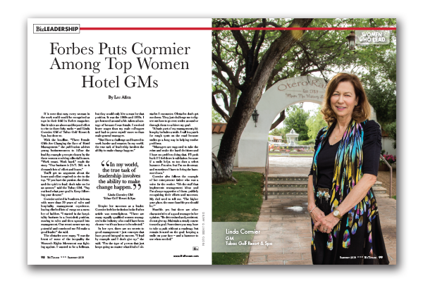 Photo of Forbes Puts Cormier Among Top Women Hotel GMs
