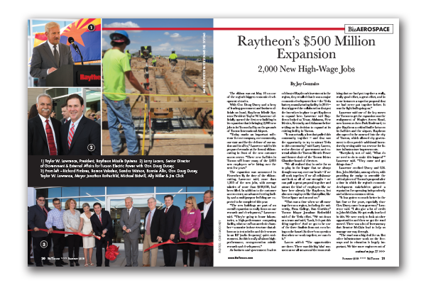 Photo of Raytheon's $500 Million Expansion