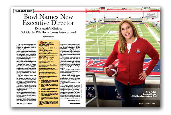 Photo of Bowl Names New Executive Director