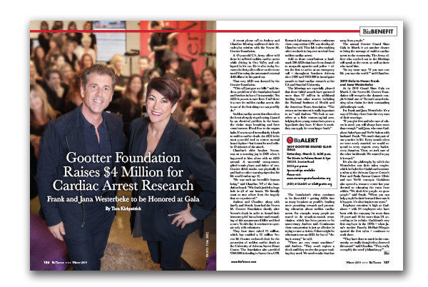 Photo of Gootter Foundation Raises $4 Million for Cardiac Arrest Research