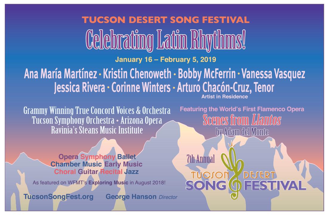 Photo of Tucson Desert Song Festival – Celebrating Latin Rhythms!