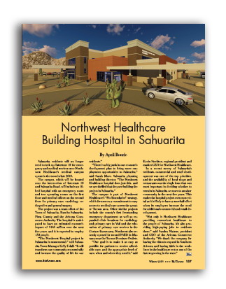 Photo of Northwest Healthcare Building Hospital in Sahuarita