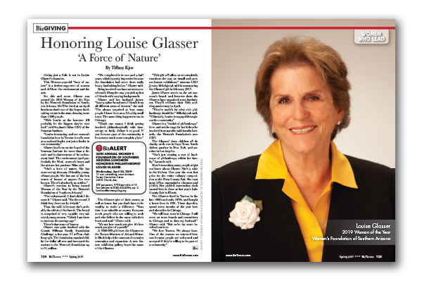 Photo of Honoring Louise Glasser