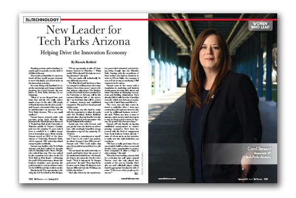 Photo of New Leader for Tech Parks Arizona