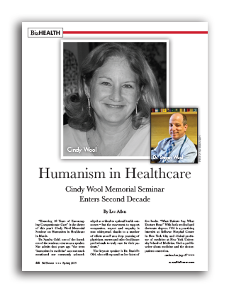 Photo of Humanism in Healthcare