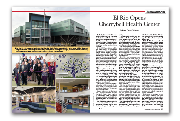 Photo of El Rio Opens Cherrybell Health Center