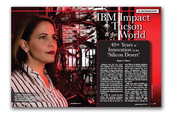 Photo of IBM Impact on Tucson & the World