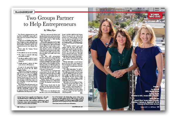 Photo of Two Groups Partner to Help Entrepreneurs