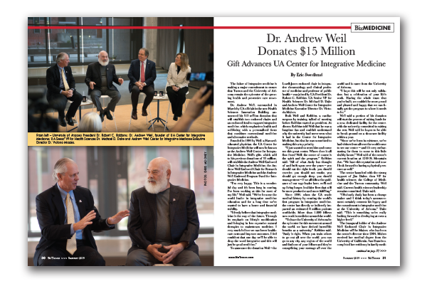 Photo of Dr. Andrew Weil Donates $15 Million