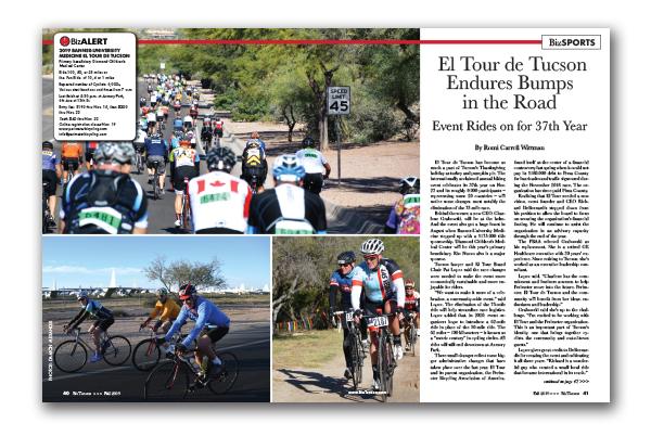 Photo of El Tour de Tucson Endures Bumps in the Road