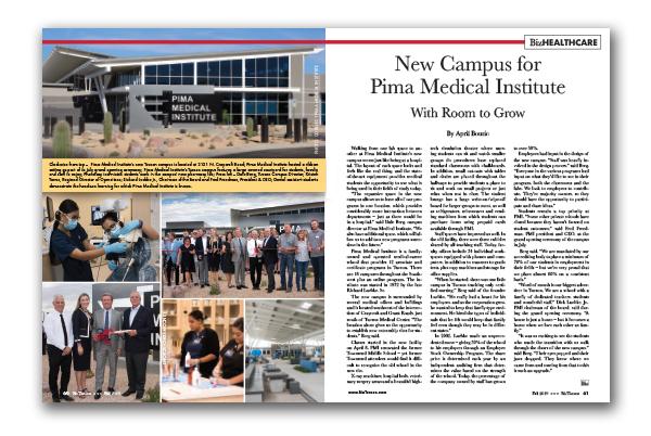 Photo of New Campus for Pima Medical Institute