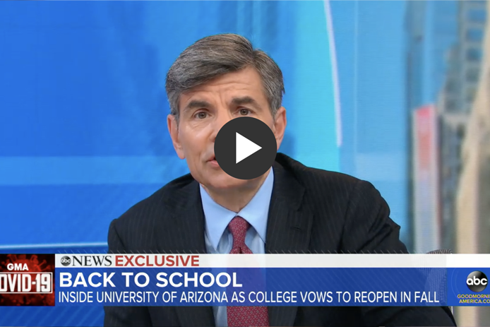 Photo of ABC's Good Morning America Spotlights UArizona Reentry Plan