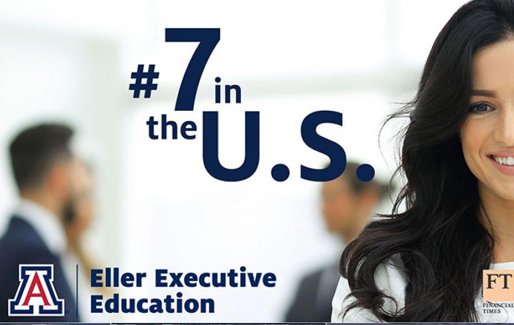 Photo of Financial Times Lists UArizona's Eller College Executive Program in U.S. Top 10