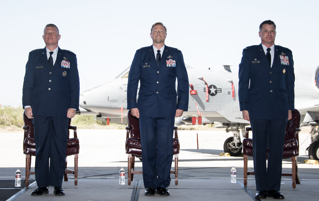Photo of Davis Monthan AFB Changes Command at 355th Wing