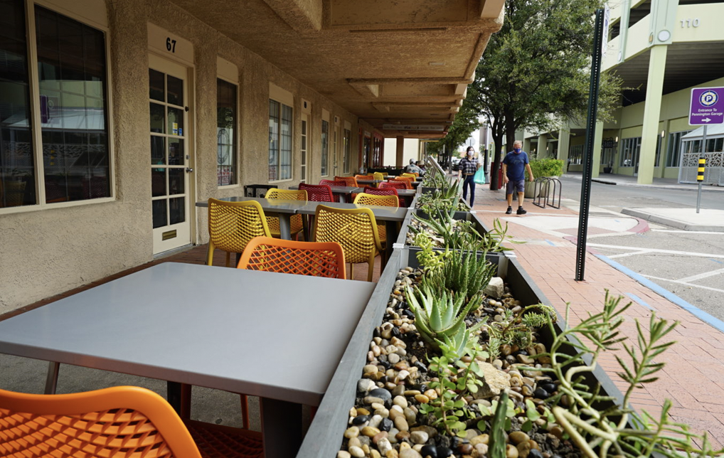 Photo of Pima County Partnership Helps Create Downtown Outdoor Cafes