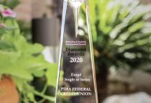 Photo of Pima Federal Credit Union Wins Diamond Award for Stellar Marketing