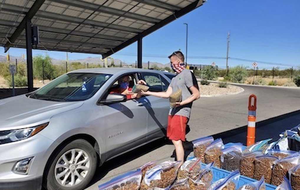 Photo of Pima Animal Care Center Donates Pet Food to Needy Families