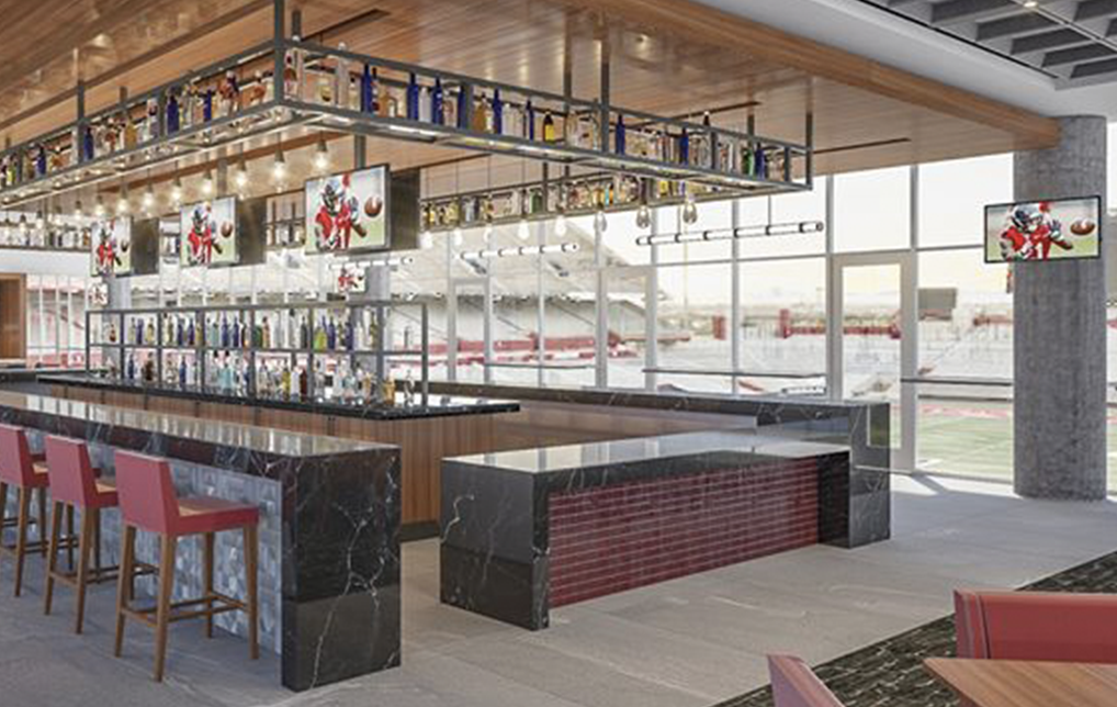 Photo of The Arizona Sands Club Set to Open October 1 at Arizona Stadium
