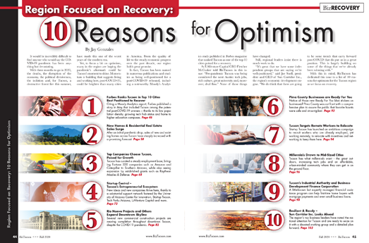 Photo of Region Focused on Recovery: