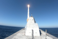 Photo of Raytheon Systems at Heart of Successful Warship Test