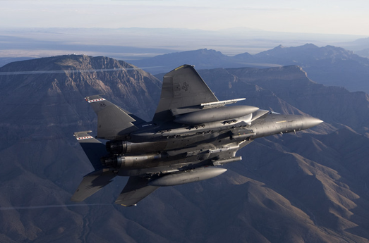 Photo of Raytheon's Smart Weapon Approved for Use on F-15 Eagle