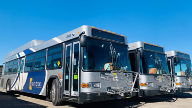 Photo of Sun Tran Adds 15 New Lower-Emission Buses into Service