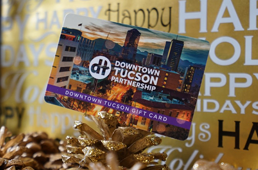 Photo of Downtown Tucson Partnership Offers New Gift Cards to Support Local Businesses