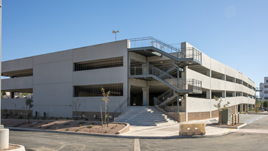 Photo of Sundt Completes Parking Garage at Tucson Convention Center