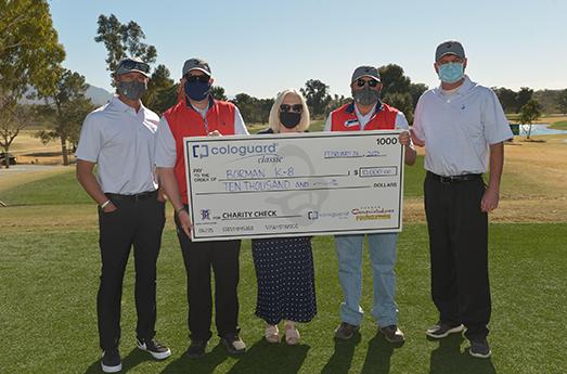 Photo of Tucson Conquistadores Donate $10,000 to Borman Elementary School