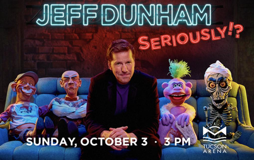 Photo of Comedian Jeff Dunham Kicks Off 5th Tour at Tucson Arena