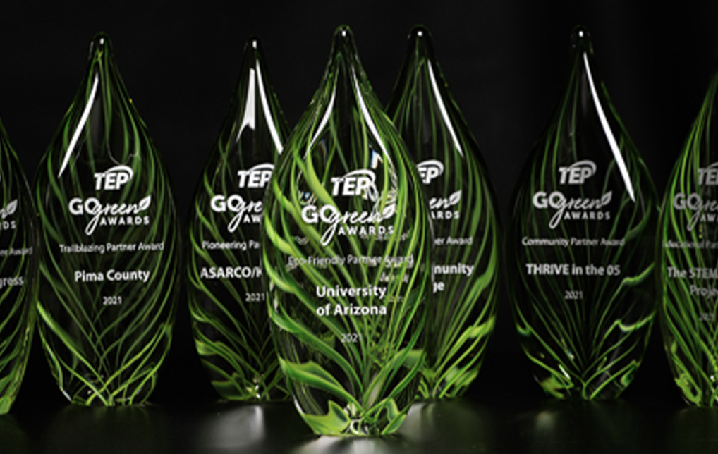 Photo of Tucson Electric Power Announces 2021 Go Green Award Winners