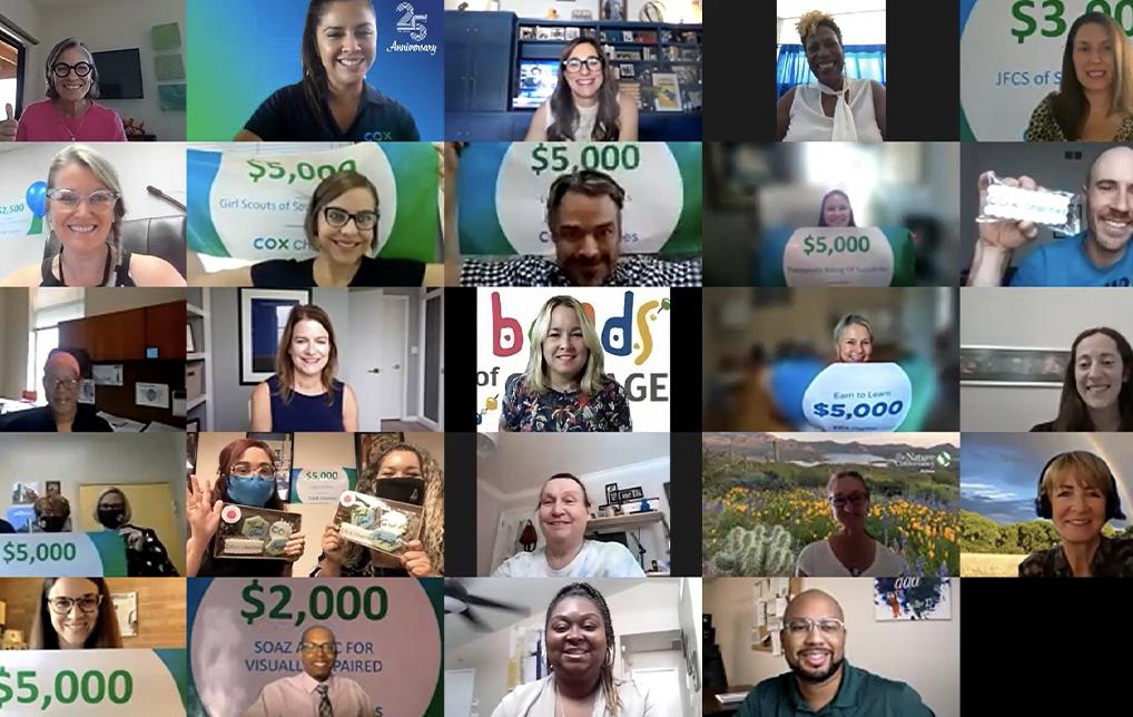 Photo of Cox Employees Donate $80,000 to 21 Southern Arizona Nonprofits