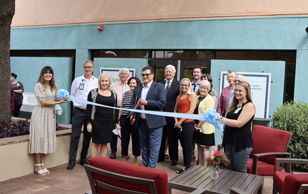 Photo of Long Realty Cares Foundation Funds Patio for Tucson Medical Center Staff